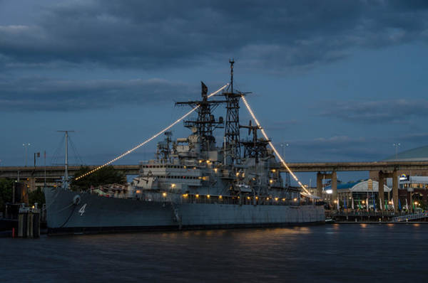Photograph - Uss Little Rock Clg-4 by Guy Whiteley
