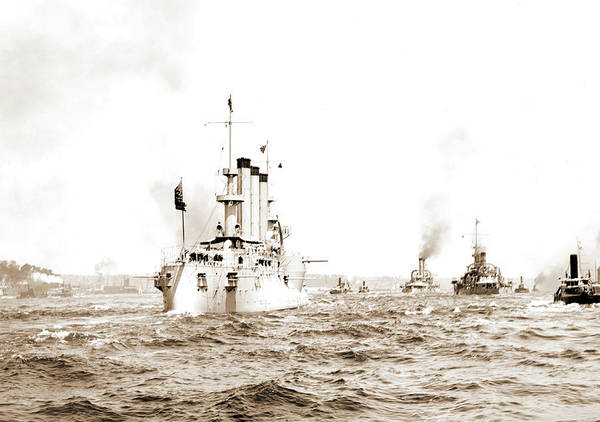Wall Art - Drawing - U.s.s. M .., Government Vessels, American by Litz Collection