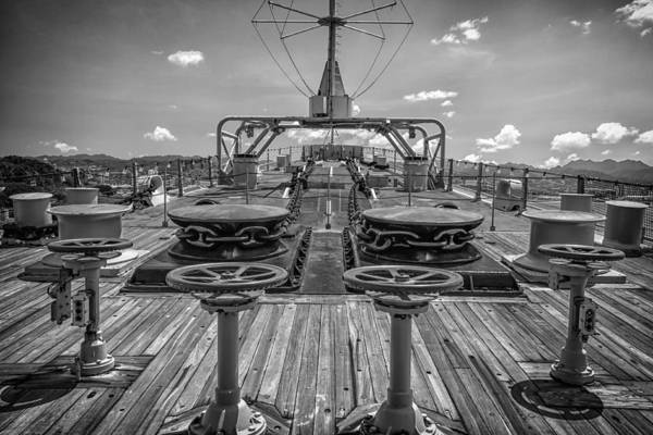 Uss Arizona Wall Art - Photograph - Uss Missouri Anchor Chain by Mike Burgquist