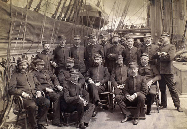 Photograph - Uss Mohican, C1885 by Granger