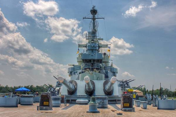 Uss North Carolina Art Print