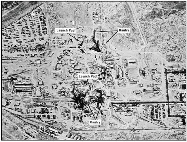 Reconnaissance Photograph - Ussr Missile Test Range by National Reconnaissance Office