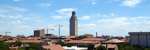 Photograph - Ut Tower 2009 by James Granberry