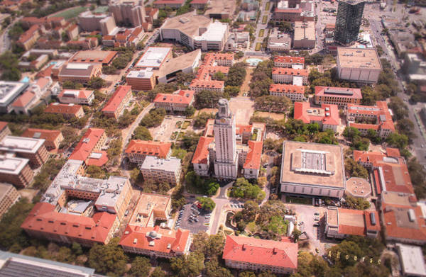 Wall Art - Photograph - Ut Tower by Andrew Nourse