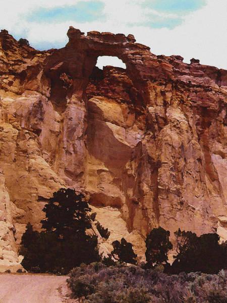 Digital Art - Utah Arch by David Hansen