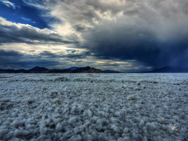 Photograph - Utah - Bonneville Salt Flats 003 by Lance Vaughn