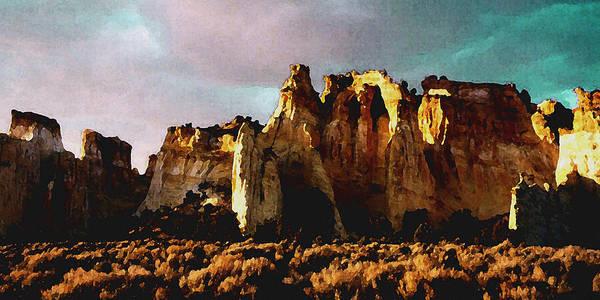 Digital Art - Utah Country 1 by David Hansen