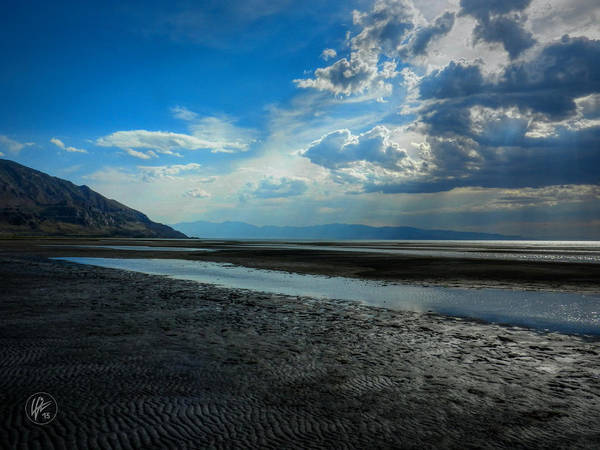Photograph - Utah - Great Salt Lake 003 by Lance Vaughn