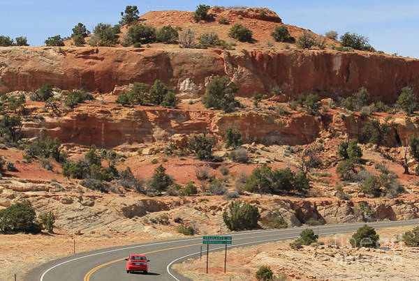 Highway 12 Wall Art - Photograph - Utah Highway 12 2648 by Jack Schultz