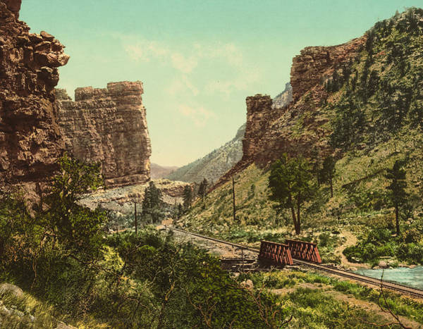 Wall Art - Photograph - Utah Price Canyon, C1900 by Granger