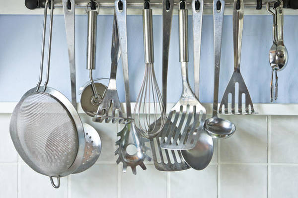 Household Objects Photograph - Utensils by Tom Gowanlock