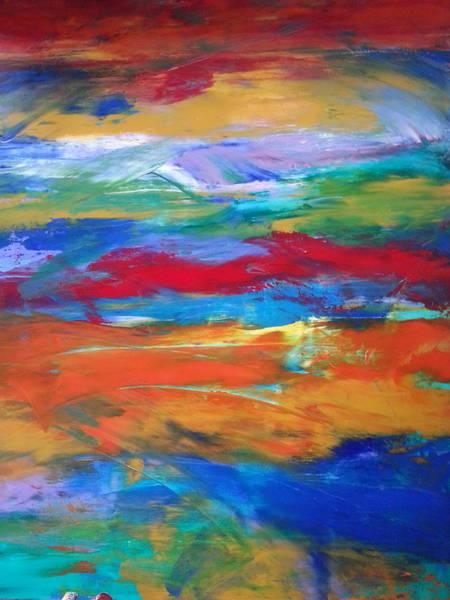 Wall Art - Painting - Utopia by Tanya Lozano Abstract Expressionism