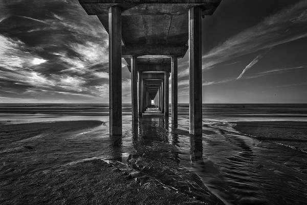 Scripps Pier Photograph - Uttered Madness by Peter Tellone
