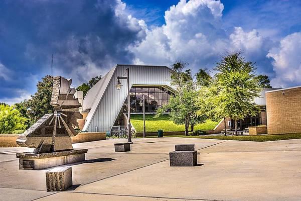 University Of West Florida Photograph - Uwf Gym by Jon Cody