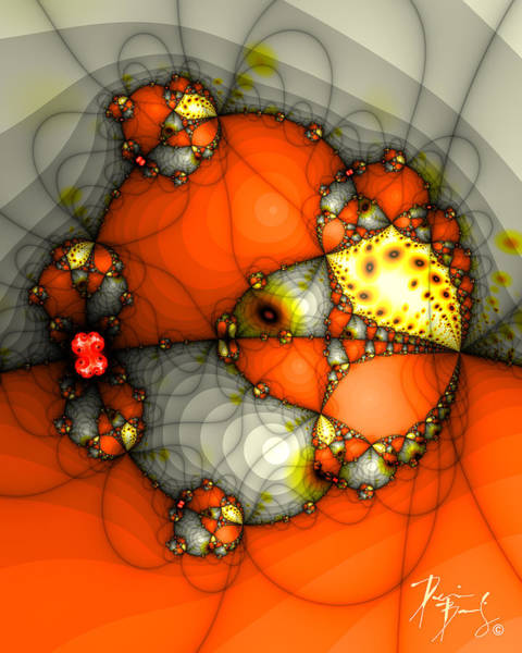 Digital Art - V-01 by Dennis Brady