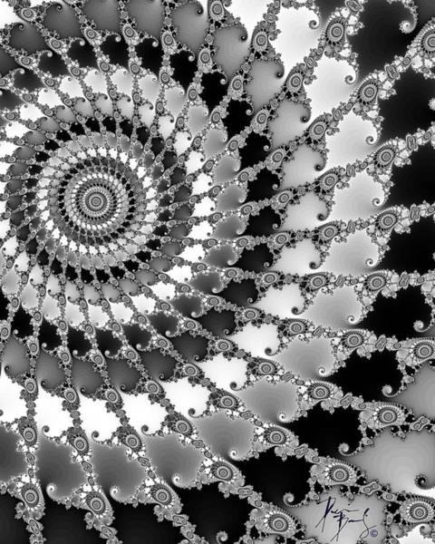 Digital Art - V-08 by Dennis Brady