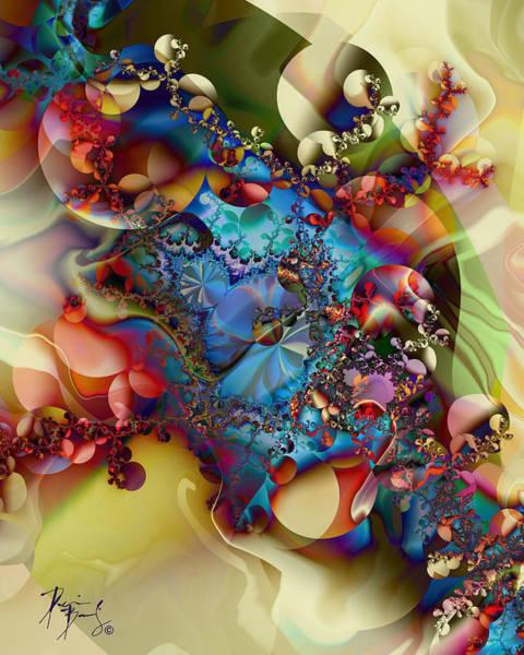 Digital Art - V-09 by Dennis Brady