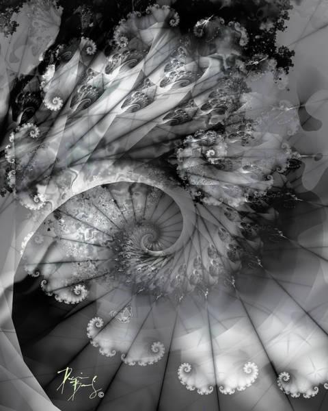Digital Art - V-11 by Dennis Brady