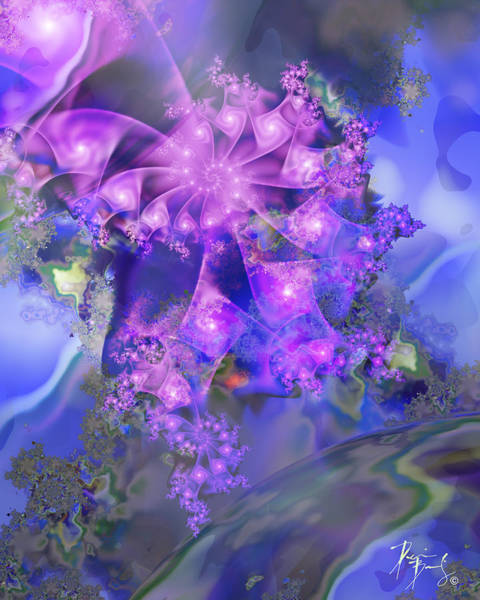 Digital Art - V-13 by Dennis Brady