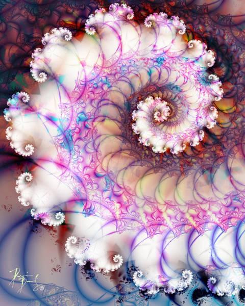 Digital Art - V-15 by Dennis Brady