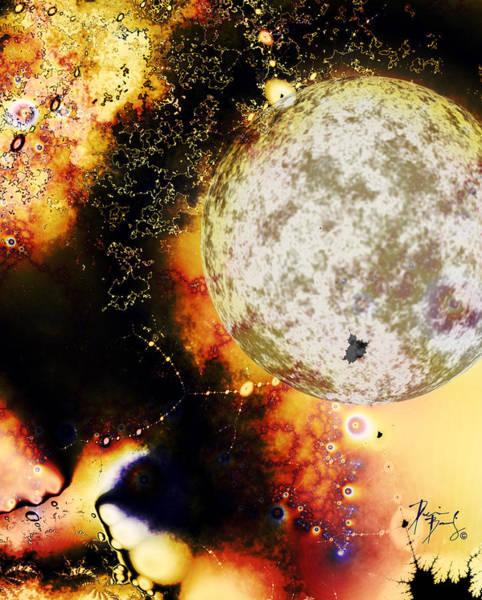 Digital Art - V-16 by Dennis Brady