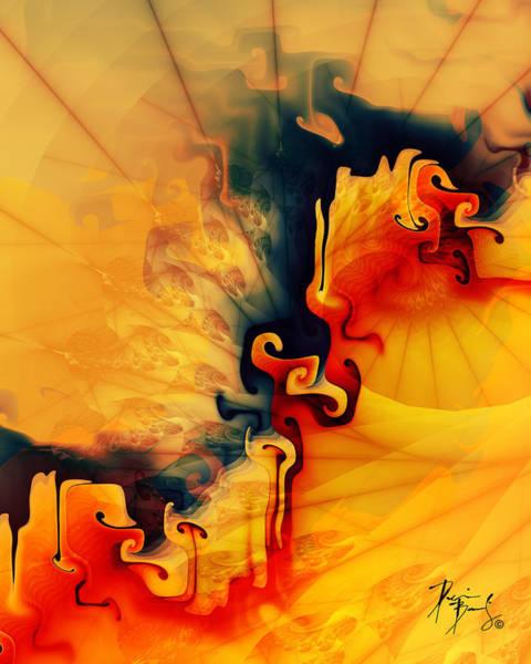 Digital Art - V-18 by Dennis Brady