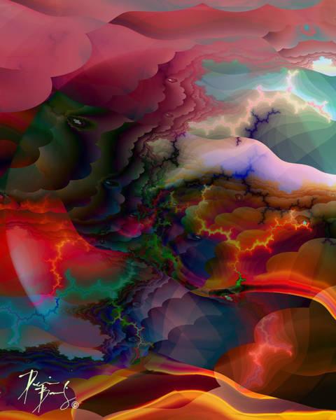 Digital Art - V-19 by Dennis Brady
