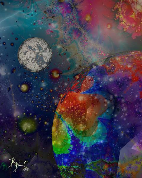 Digital Art - V-27 by Dennis Brady