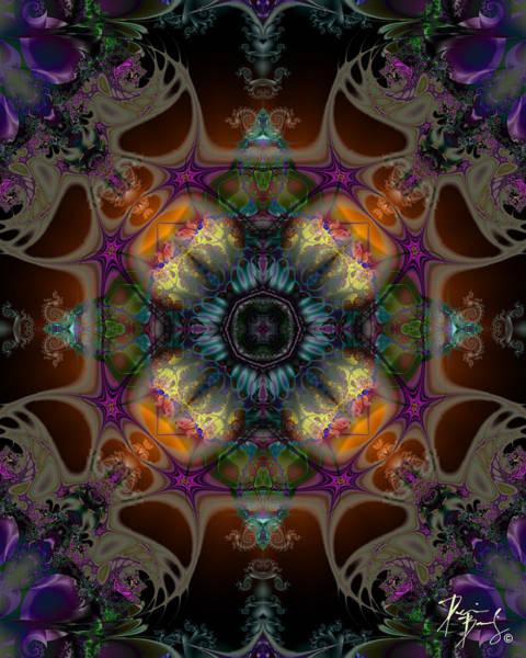 Digital Art - V-28 by Dennis Brady