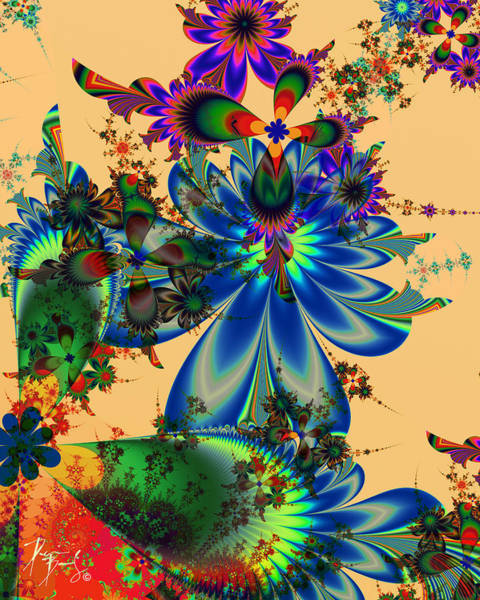 Digital Art - V-29 by Dennis Brady
