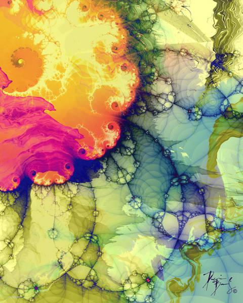 Digital Art - V-32 by Dennis Brady