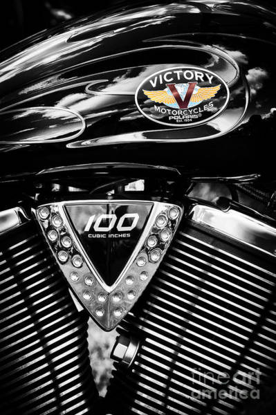 Victory Motorcycle Photograph - V by Tim Gainey