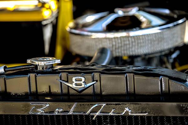 Photograph - V8 Bel Air by Melinda Ledsome