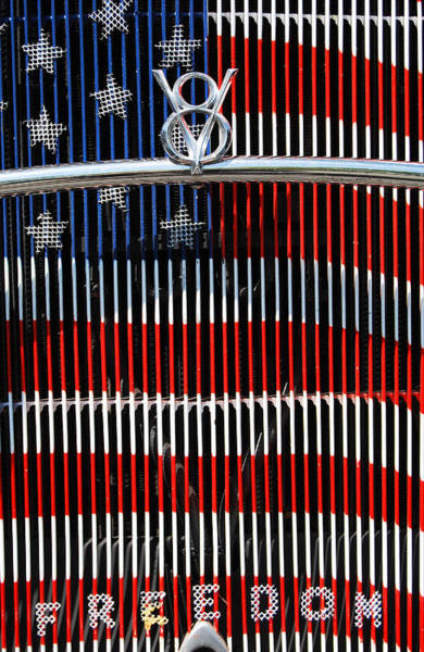 Photograph - V8 Freedom by Jani Freimann