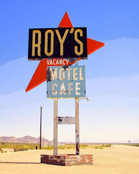 Wall Art - Photograph - Vacancy Route 66 by William Dey