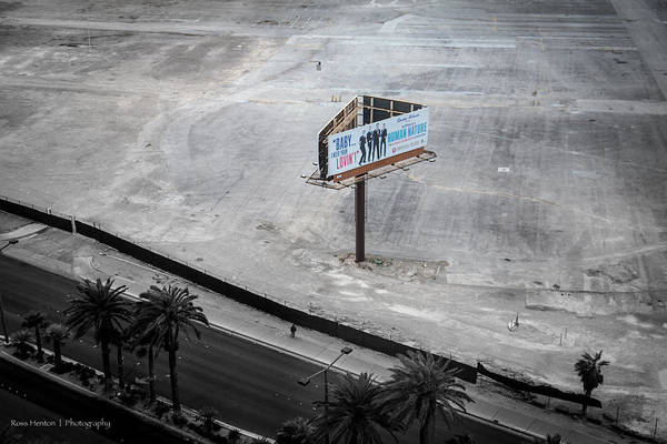 Photograph - Vacant Vegas by Ross Henton