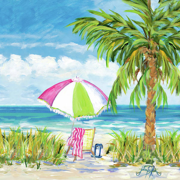 Vacation Getaway Wall Art - Painting - Vacation Getaway by Julie Derice