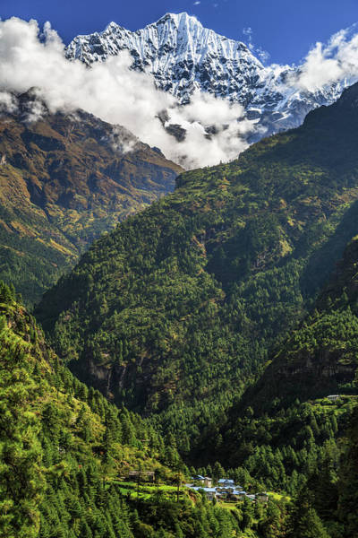 Nepal Wall Art - Photograph - Vacation House In The Himalayas by Feng Wei Photography