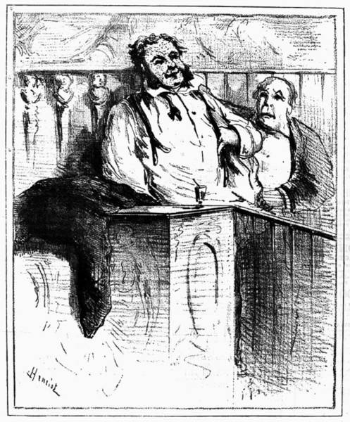 1880 Drawing - Vaccination Cartoon by Granger