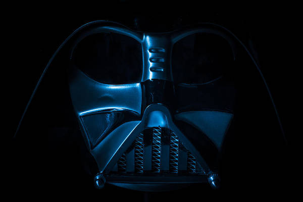 Darkside Photograph - Vader Blues by Randy Turnbow