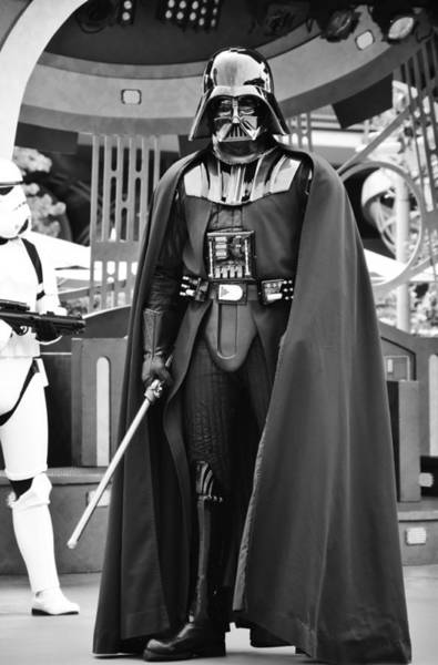 Wall Art - Photograph - Vader II by Ricky Barnard