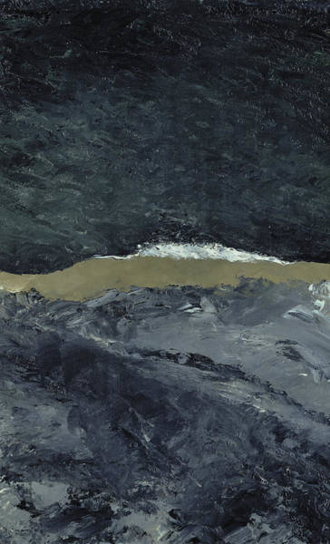 Wave Breaking Painting - Vague Vii by August Johan Strindberg
