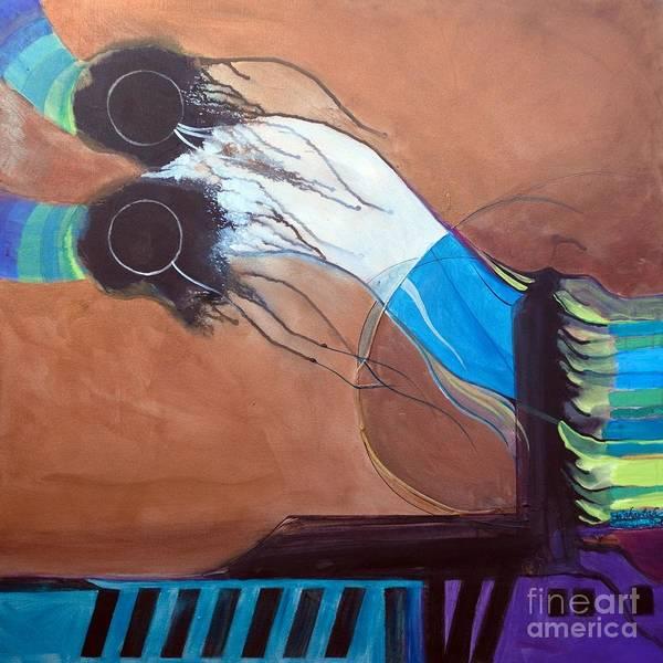 Painting - V'ahavtah by Marlene Burns