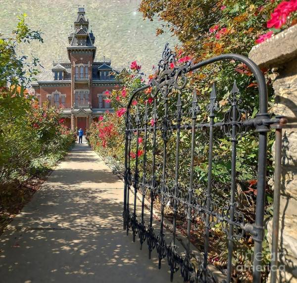Liane Photograph - Vaile Landscape And Gate by Liane Wright