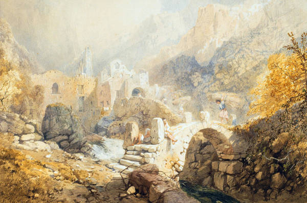 Territory Painting - Val Di Ferriera by James Baker Pyne