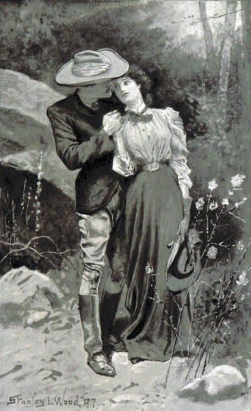 Courtship Photograph - Valentines Day, 1898 by British Library