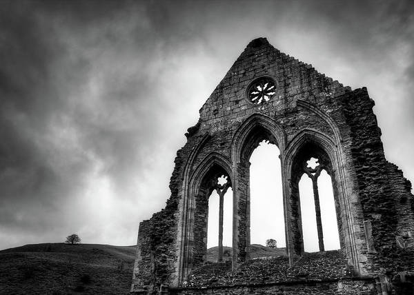 Abbey Photograph - Valle Crucis Abbey by Dave Bowman