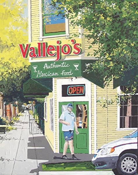 Vallejo's Art Print by Paul Guyer