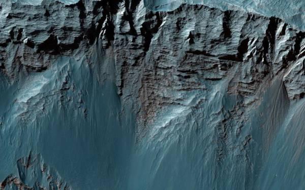 Nasa Photograph - Valles Marineris by Nasa