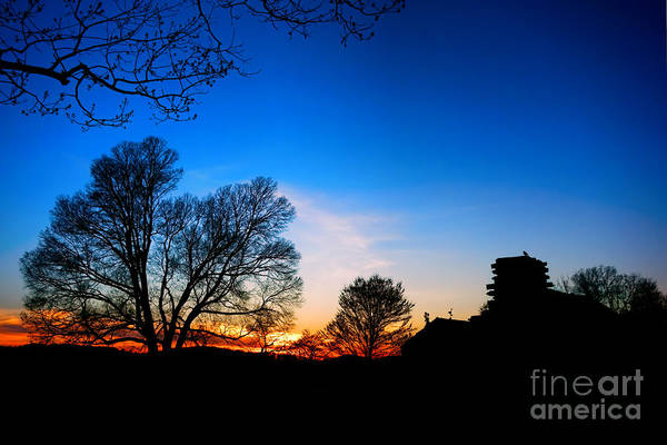 Continental Army Photograph - Valley Forge Evening  by Olivier Le Queinec